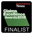 Claims Award Finalist 2015