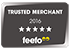 Feefo Trusted Merchant Accreditation