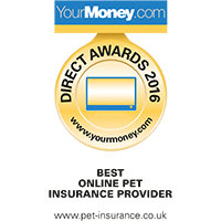 Your Money Awards 2016 winner Best Pet Insurance.